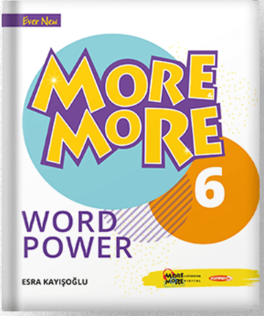 6 NEW MORE & MORE ENGLISH  WORDPOWER