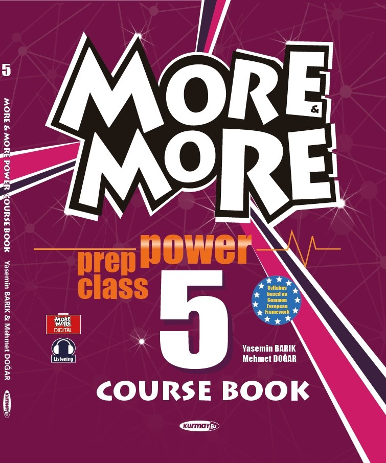5 NEW MORE & MORE POWER COURSE BOOK