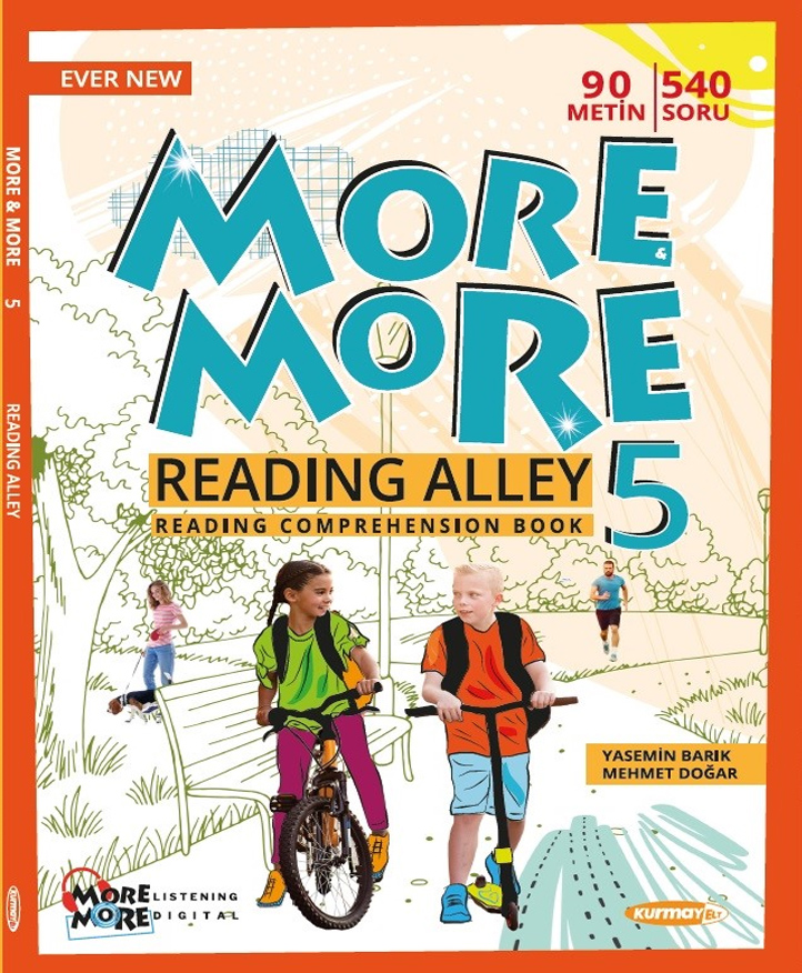 5 NEW MORE & MORE ENGLISH READING ALLEY