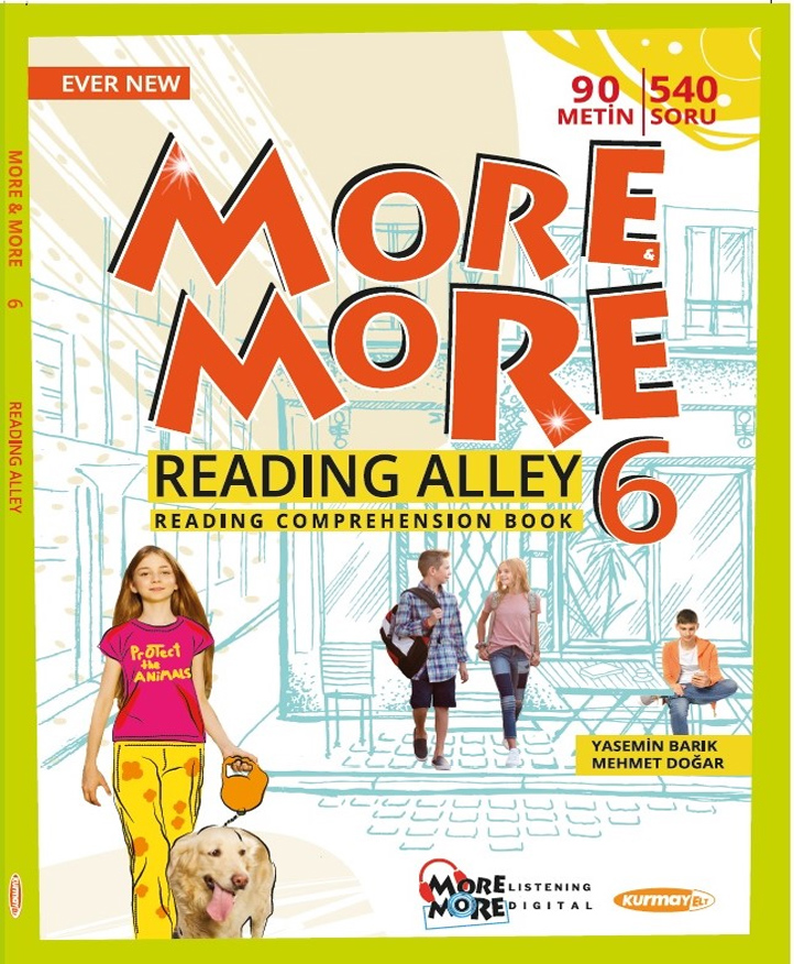 6 NEW MORE & MORE ENGLISH READING ALLEY