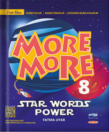 8 NEW MORE & MORE ENGLISH STAR WORDPOWER