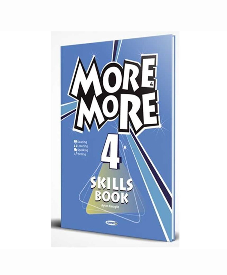 8 NEW MORE & MORE ENGLISH SKILS BOOK 4